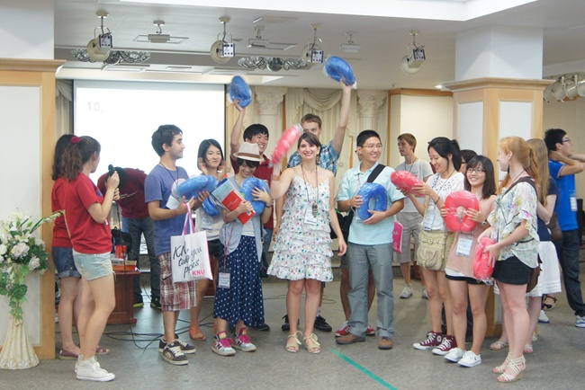 Welcome party for exchange students 관련 이미지입니다.