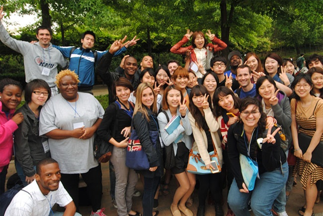2012 KNU-GSU Global Leadership Program 관련 이미지입니다.