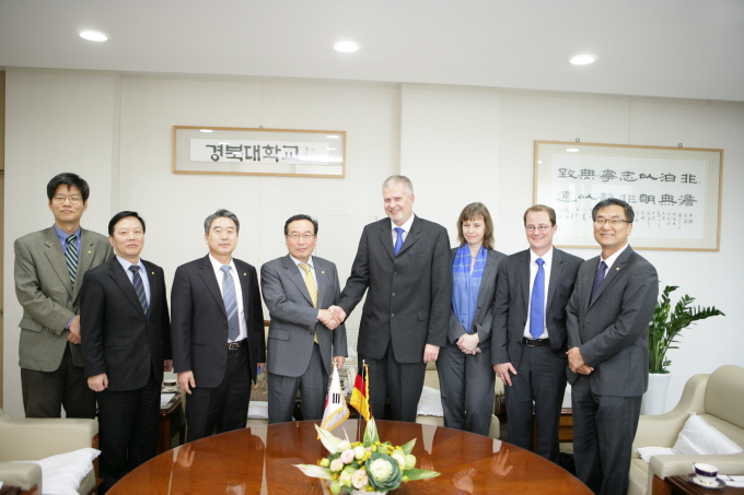 Delegations from Ulm University of Applied Sciences 관련 이미지입니다.