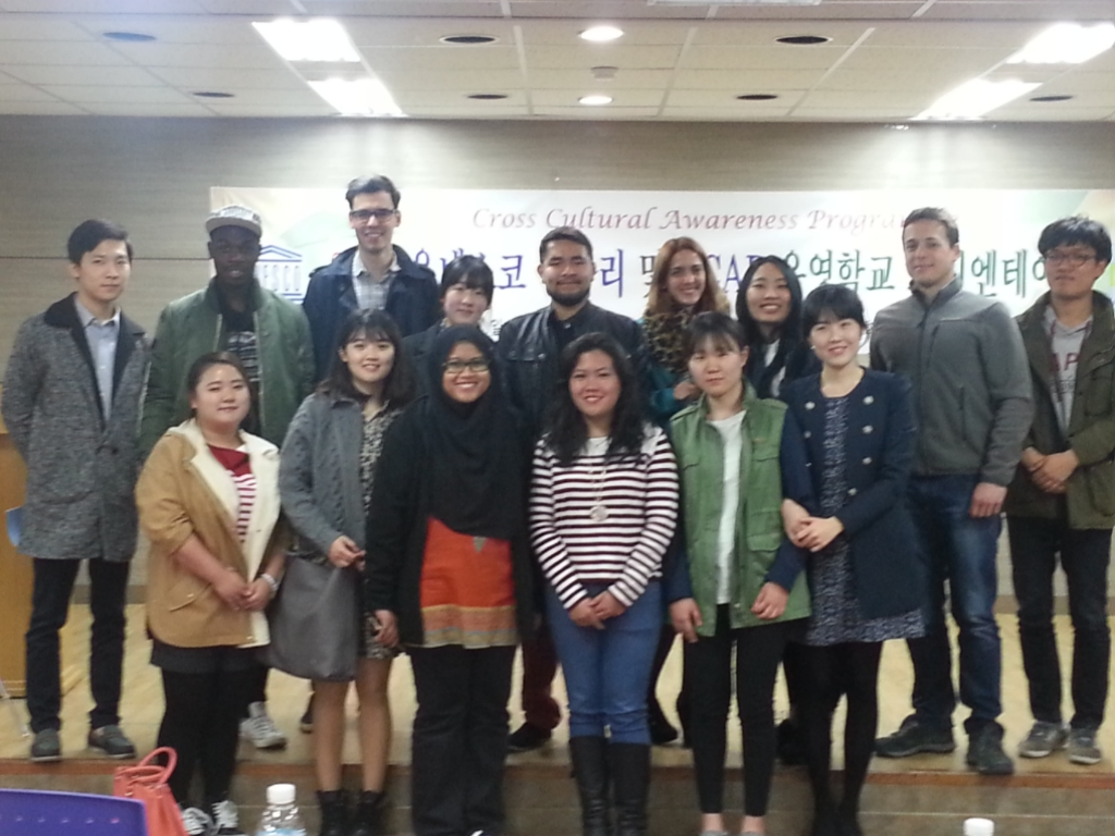 2015 CCAP(Cross Cultural Awareness Programme) Orientation 관련 이미지입니다.