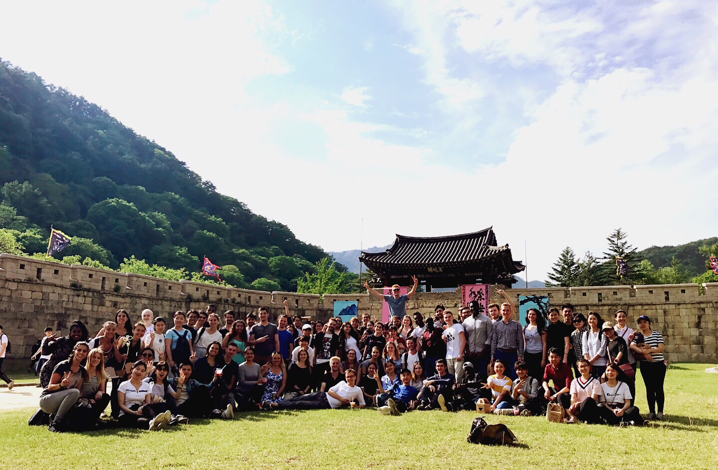 International Exchange/Double Degree Students Myungyeong Trip 관련 이미지입니다.
