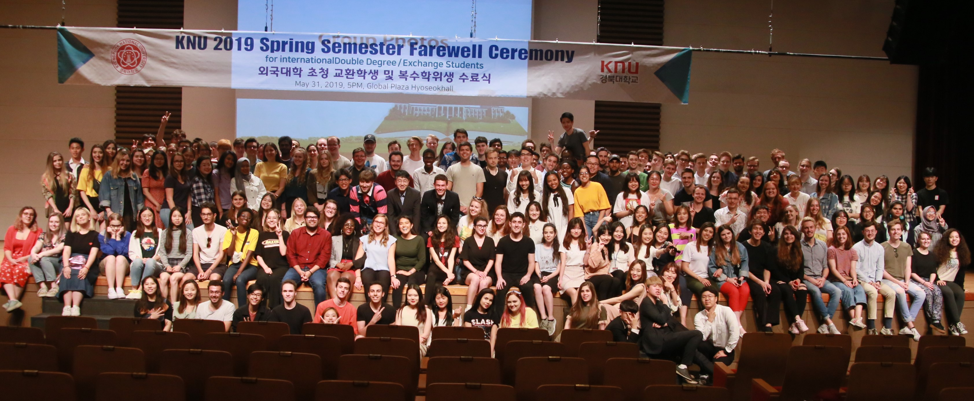 Spring 2019 Farewell Ceremony for International Exchange and Double degree Students 관련 이미지입니다.